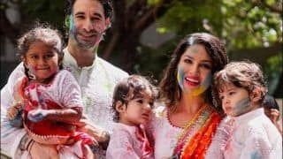 Sunny Leone's Pictures With Family Drenched in Holi Colours Will Reload Your Festive Vibe