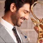 Kartik Aaryan Flaunts 'Best Actor in Comic Role' Trophy at Zee Cine Awards, Shuts up Trolls Questioning His 'Muchhon Wala Character'-Weight Gain For Pati Patni Aur Woh