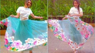 Ankita Lokhande Flutters Like Butterfly in Easy-Breezy Skirt-Sultry Top, Viral Pictures Makes Fans go Weak in Knees