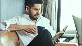 Sidharth Malhotra Takes a Leaf Out of Ex-Girlfriend Alia Bhatt's Book During COVID-19 Quarantine And THIS Picture is Proof!