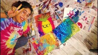 Entertainment News Today March 21, 2020: Janhvi Kapoor Unleashes The Painter in Her During COVID-19 Quarantine, 'I Love PineApple' Painting Goes Viral
