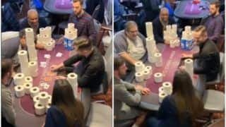 Watch: Instead of Money, People Play Poker With Toilet Paper Rolls at London Club