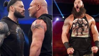 Roman Reigns Pulls Out of WrestleMania, Braun Strowman to Face Goldberg for Universal Title