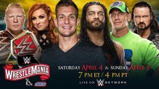 Wrestlemania 36 Set For Two-Night Presentation; New England Patriot's Rob Gronkowski to Host