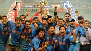 Take a trip down memory lane with Star Sports and relive India   s 2011 Cricket World Cup triumph