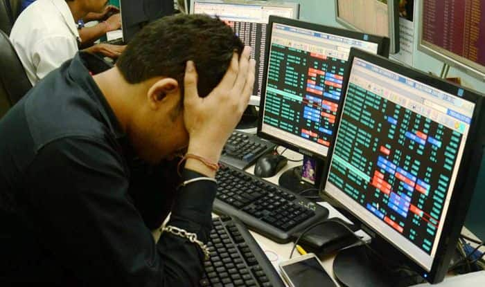 Markets in Red as Sensex Down by Over 2300 Points, Nifty at 15-Month Low    10 Points   India.com