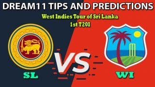 SL vs WI Dream11 Team Prediction, West Indies Tour of Sri Lanka 2020, 1st T20I: Captain And Vice-Captain, Fantasy Cricket Tips Sri Lanka vs West Indies at Pallekele International Cricket Stadium, Pallekele 7:00 PM IST