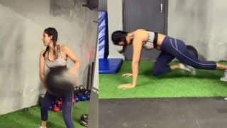 Punjabi Bombshell Sonam Bajwa is Giving us Some Serious Fitness Goals in This Video