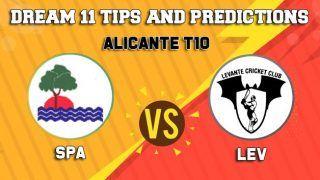 SPA vs LEV Dream11 Team Prediction, ECS - Alicante T10: Captain And Vice-Captain, Fantasy Cricket Tips Sporting Alfas vs Levante at Sporting Alfas Cricket Club, Alicante 7:30 PM IST