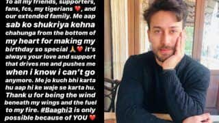Trending Bollywood News, March 3: Tiger Shroff Writes a Heartwarming Note For His 'Tigerians', Thanks Him For Being 'Wind Beneath His Wings'