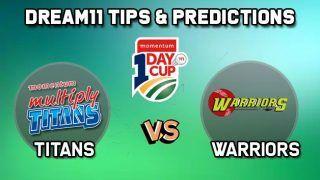Dream11 Team Prediction Cricket TIT vs WAR, South Africa ODD: Captain And Vice-Captain, Fantasy Cricket Tips Titans vs Warriors, Willowmoore Park, Benoni,  5:00 PM IST