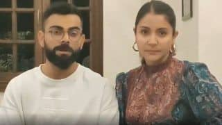 We Are Staying Home, You Should do it Too: Virat Kohli And Anushka Sharma on Tackling COVID-19 Pandemic