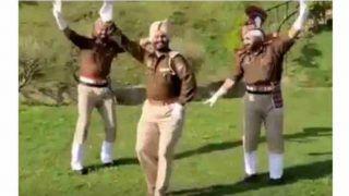 Watch: Punjab Cops Shake A Leg to 'Baari Barsi' to Spread Awareness About Coronavirus