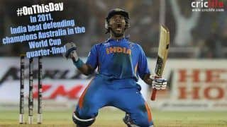 This Day That Year: Yuvraj Singh, Suresh Raina Knock Australia Out of World Cup