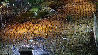 6 Feet Apart: Thousands of Israelis Maintain Social Distancing While Protesting Against Benjamin Netanyahu