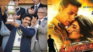 Sooryavanshi to Release on Holi 2021 in Theatres? Makers Hint at Bringing Akshay Kumar's Film Before Ranveer Singh's '83