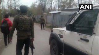 Terrorist Killed in Jammu And Kashmir as Encounter Breaks Out in Shopian