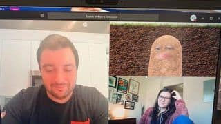 Boss Lady Goes Viral After Accidentally Conducting Online Meeting as a Potato