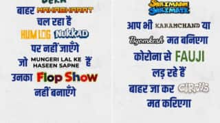 'Humlog Won't Go to Nukkad': Mumbai Police Uses Old DD Show Titles To Urge People to Stay Home