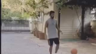 Video kl rahul enjoys basketball during lockdown brian lara criticizes 4006271