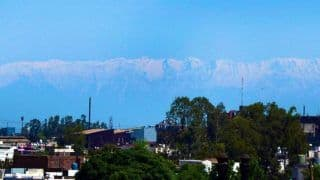 Jalandhar Residents Wake up to View of Snow-capped Himachal Mountains For The First Time Amid Coronavirus Lockdown