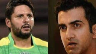 Outside The Field, we Should All be Good Friends: Afridi on Gambhir