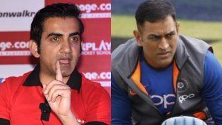 गौतम के 'गंभीर' बोल-'यदि IPLका आयोजन नहीं हुआ तो Dhoni के लिए टीम इंडिया में वापसी होगी मुश्किल
