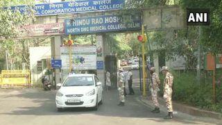 दिल्ली के हिंदू राव अस्पताल में शुरू हुईं आपातकालीन सेवाएं, नर्स पाई गई थी कोरोना पॉजिटिव