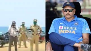 Kerala Police Use Ravi Shastri's 'Tracer Bullet' Challenge as Background Score to Track COVID-19 Lockdown Violators; India Coach Reacts | WATCH VIDEO