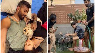 Hardik Pandya-Natasa Stankovic Give Their Pet Dogs a Bath During Coronavirus Lockdown, Video Goes Viral | WATCH