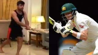 Rashid Khan Hilariously Emulates Steve Smith's Art of Leaving During COVID-19 Lockdown | WATCH VIDEO