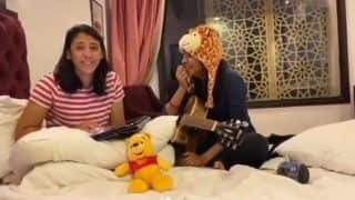 Smriti Mandhana-Jemimah Rodrigues Jamming Together During Coronavirus Lockdown | WATCH VIDEO