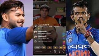 Rishabh Pant, Yuzvendra Chahal Get Into a Banter During Live Chat Session of Kevin Pietersen-Virat Kohli | SEE POST