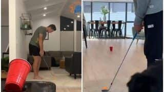 WATCH: Santner's Crazy  Golf Tricks Will Blow Your Mind