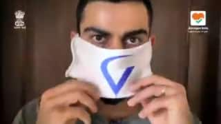BCCI Reveals 'Team Mask Force' in Fight Against Coronavirus Pandemic | WATCH VIDEO