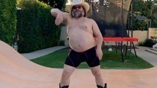 Corona Quarantine: Jack Black's Shirtless #StayAtHome Dance Takes Internet by Storm