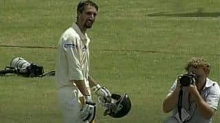 On This Day: Birthday Boy Jason Gillespie Hits Double-Century, Sets Record For Highest Score by a Nightwatchman