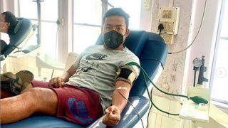 India Footballer Jeje Lalpekhlua Donates Blood Amid Shortage in Mizoram