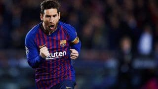 Lionel Messi Scores Solo Goal During For Barcelona vs Napoli in Champions League | WATCH