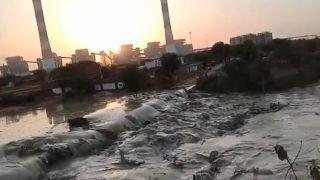 मध्य प्रदेश में रिलायंस के बिजली संयंत्र का राखड़ बांध टूटा, छह लोग बहे, दो की मौत