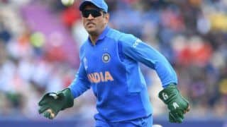 Csk team physic saw ms dhoni practicing for wicketkeeping for 1st time in 10 years 3998023
