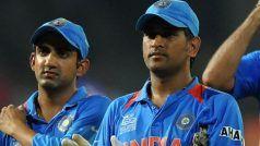 'CWC 2011 फाइनल में धोनी मेरे कहने पर ही गंभीर के साथ नंबर-5 पर बल्लेबाजी के लिए आए थे'