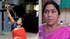दीया जलाने के दौरान बीजेपी महिला जिला अध्यक्ष ने की थी फायरिंग, FIR दर्ज, अब मांग रहीं माफी