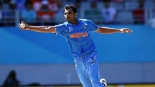 Mohammed shami revealed he played 2015 odi world cup with broken knee 4001779