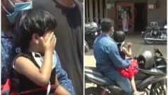 Corona: 15 दिन से घर नहीं गई नर्स, 50 फीट दूर से बेटी से मिलवाया गया; एक-दूसरे को देख खूब रोए