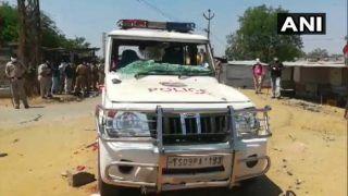 प्रवासी मजदूरों का विरोध प्रदर्शन, पुलिस पर किया पथराव, सिपाही घायल