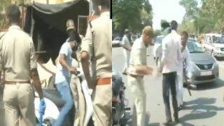 Video: लॉकडाउन का उल्लंघन करना लोगों को पड़ा महंगा, पुलिस ने किया लाठीचार्ज