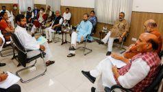 राजनाथ सिंह की अध्यक्षता में मंत्रियो की हुई बैठक, लॉकडाउन पर अब भी प्रश्नचिन्ह