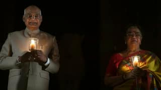 9 PM 9 Minutes: President, Vice President, Ministers Light up Lamps, Vow to Fight Coronavirus Together