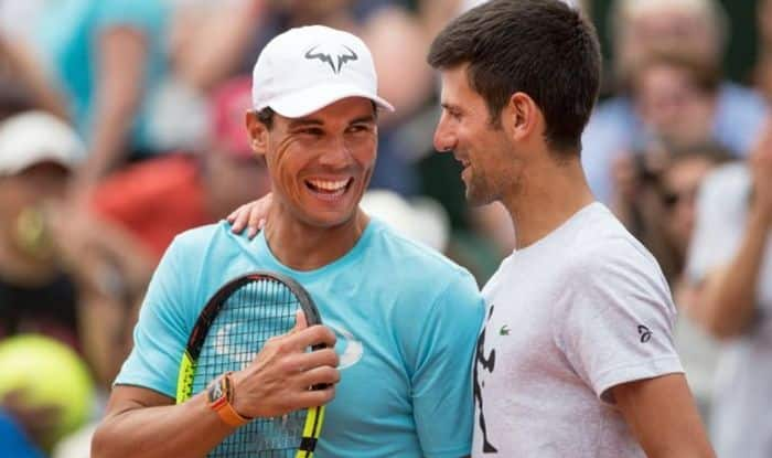 Nadal Thanks World No 1 Djokovic For His Kind Gesture Through Contribution To His Covid 19 Charity India Com Sports News